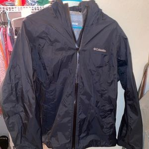 Brand new Columbia rain jacket